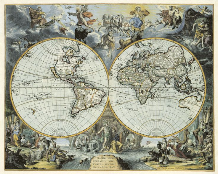 11 best antique world maps images on pinterest maps antique maps the world east west hemispheres gall inglis pair of antique map c1850 gumiabroncs Choice Image