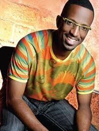 black comedian / talk show host Ricky Smiley