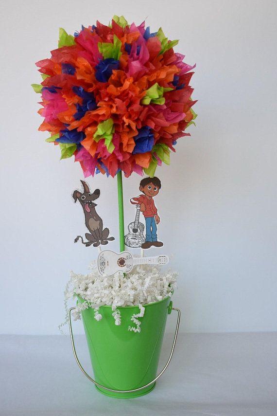 CoCo Inspired Birthday Party Centerpiece Decoration Centerpieces Decor Disney Coco In 2019