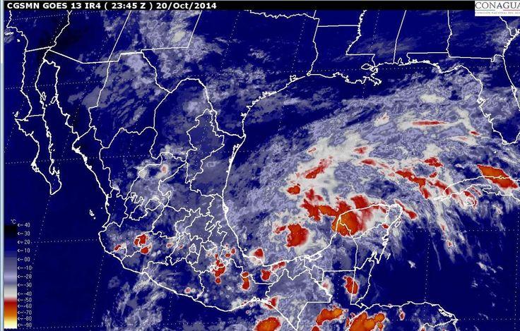 Gobierno monitorea situación climática en el Golfo de México