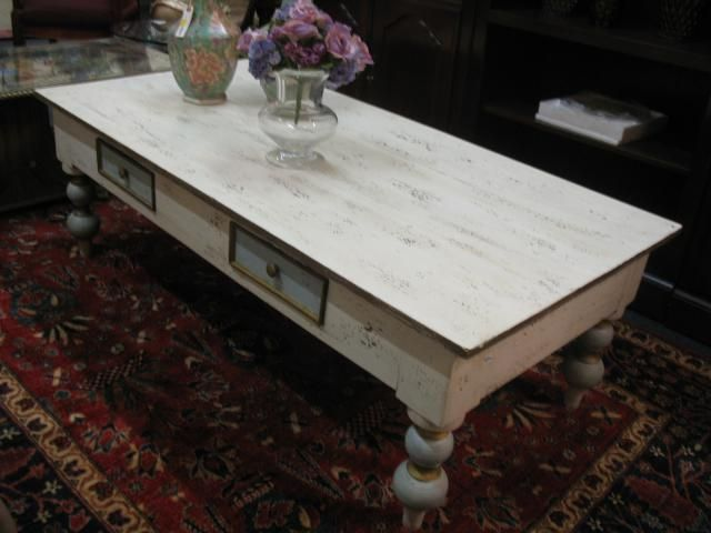 Delightful Shabby Chic Coffee Table