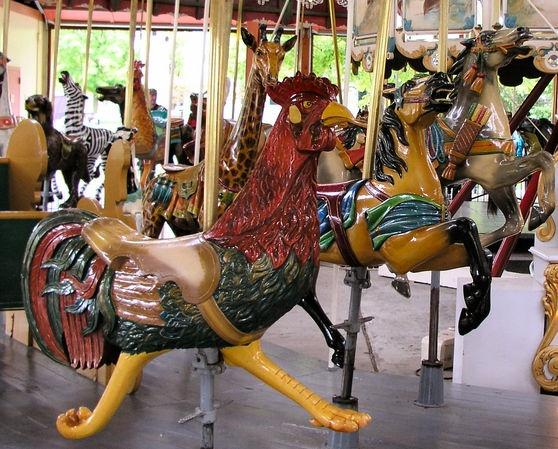 Vintage Greenfield Village carousel: Carousels Animal, Vintage Carousels, Michigan Born, National Carousels, Carousels Hors, Carousels Art, Carousels Association, Antiques Carousels, Carousels Roosters