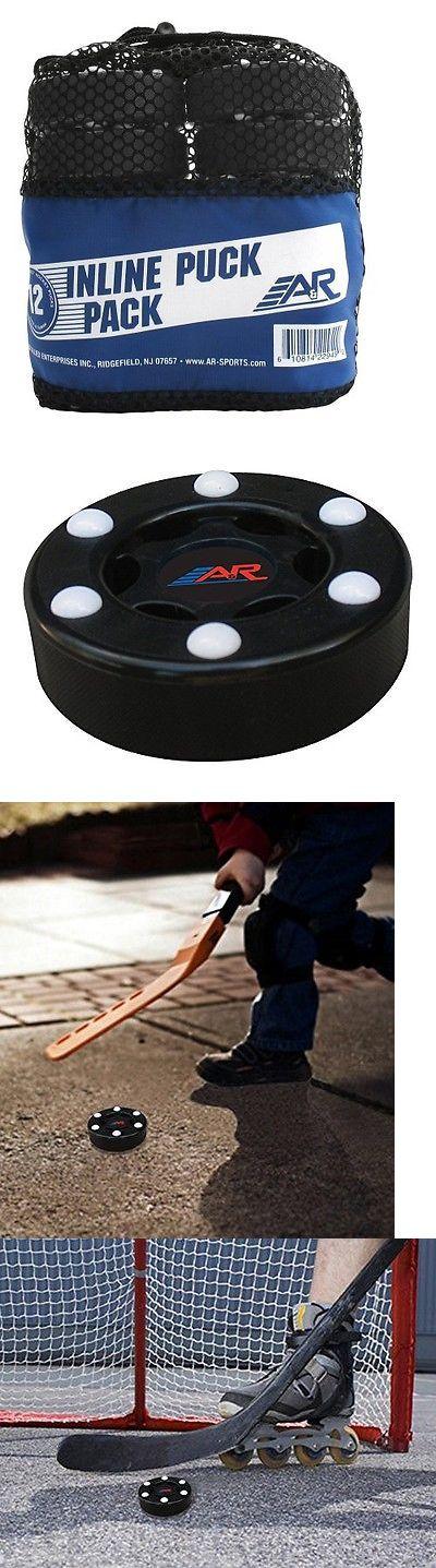 Pucks 108178: Aandr Sports Inline Street Hockey Puck (Pack Of 12) BUY IT NOW ONLY: $73.29