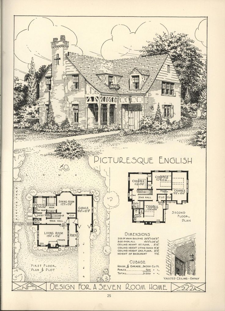 486 best english tudor images on pinterest country for Antique house plans