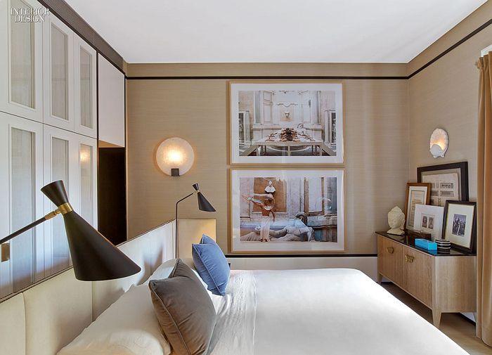 Achille Salvagni's bedroom | Photography by Eric Laignel