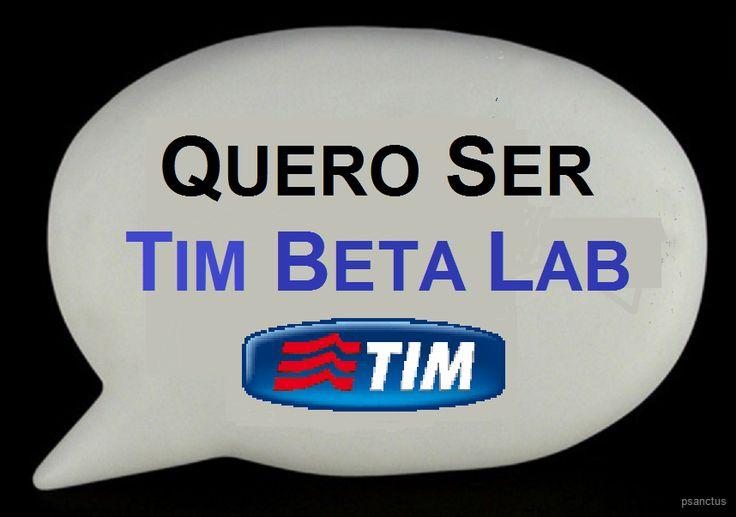 TIMbeta Lab quero ser