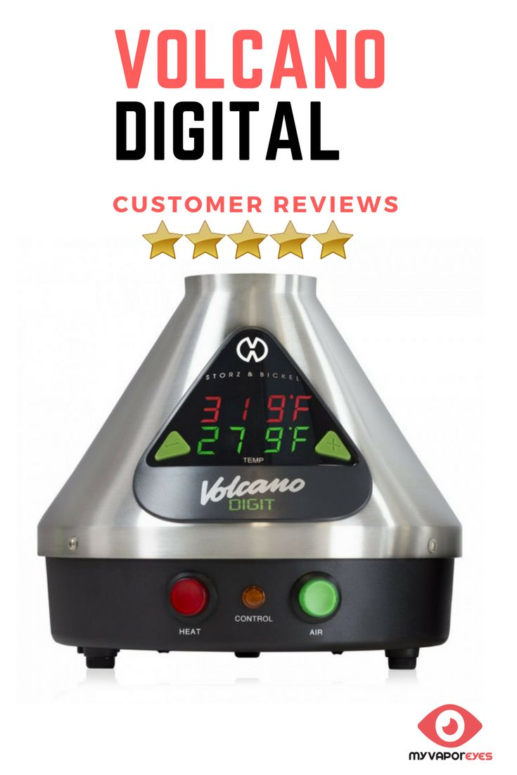 Vaporizer reviews & testimonials-Volcano Digital Vaporizer Review. Read user reviews, find the best price, product information, pros and cons on the Volcano Digital Vaporizer. Its one of the most renowned, well-respected and advanced herbs and concentrates desktop vaporizers offered on the market today.