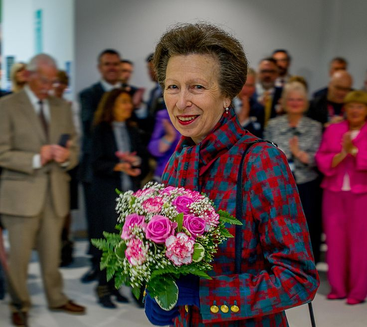 PRINCESS Anne has officially opened Bradford Royal Infirmary's new £28m hospital wing.