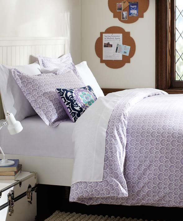Light Purple Bedding At It 39 S Best Dorm Room Ideas