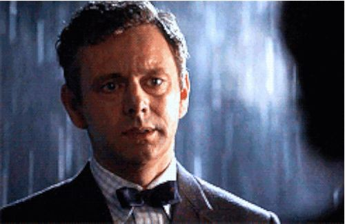 And even when he arrives at your doorstep soaking wet, the thirst can't be quenched. | This Is For Anyone Who's Thirsty For Michael Sheen