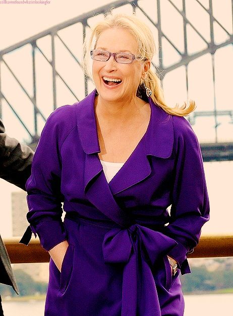 Meryl Streep, one of the most talented and beautiful actresses alive.