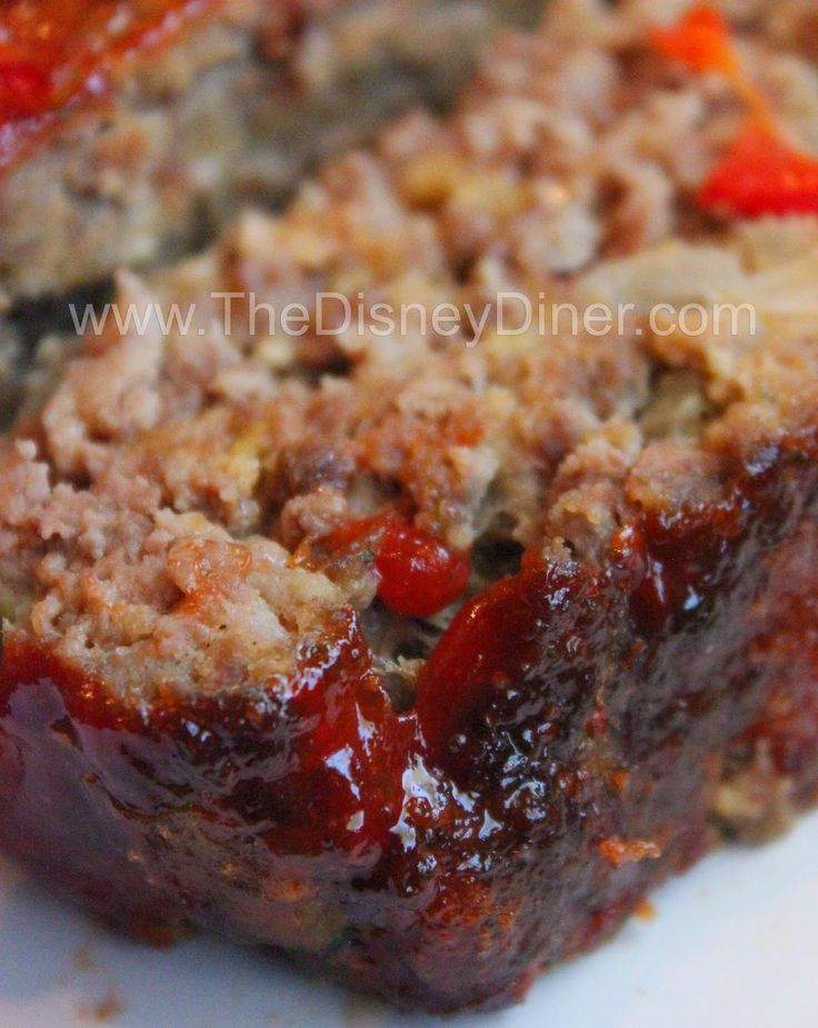 The Disney Diner: Mom's Meatloaf Recipe from 50's Prime Time Cafe (Hollywood Studios)