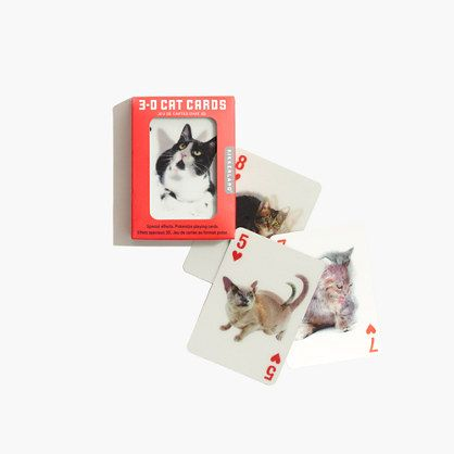 Kikkerland® 3-D Playing Cards