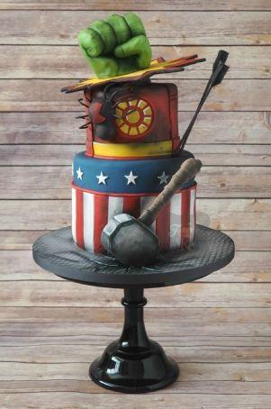avengers cake- this cake is ahmazing