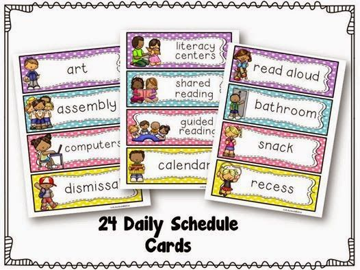 Best  Preschool Schedule Cards Ideas On   Daily