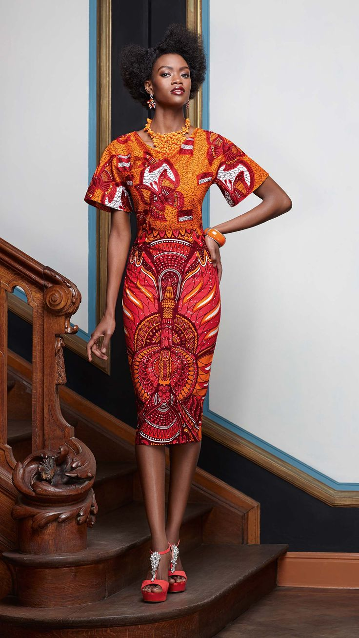 Tswana traditional dress designs 2017 styles 7 -  L Gance Inn E Vlisco V Inspired Latest African Fashion African Prints African