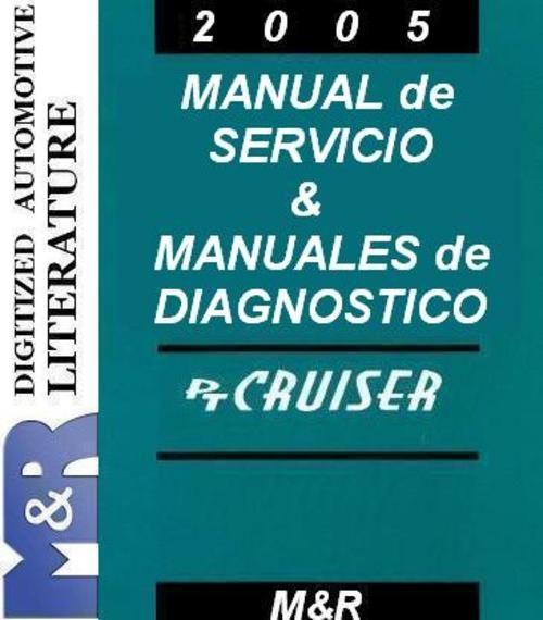 2005 Chrysler PT Cruiser Manual de servicio, Diesel manual de servicio Suplemento , manuales de DOWNLOAD