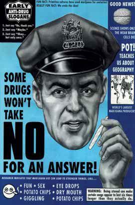 Old Skool anti-drug propaganda - Stoner Motivation - Pinterest