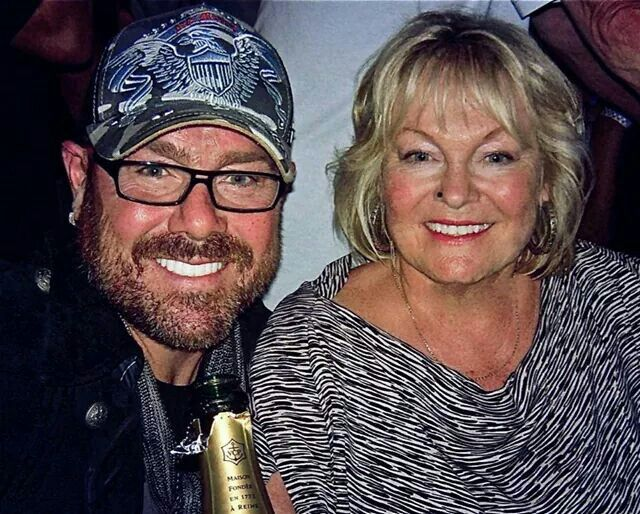 Jason Bonham & his mother