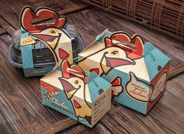 Poultry-Headed Packaging   Outlet   Food packaging design ...