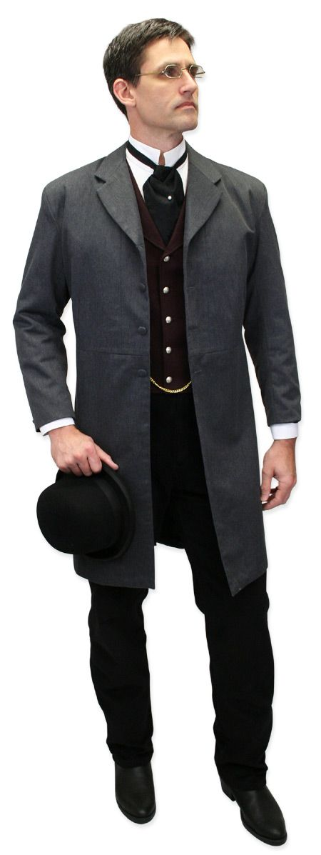 Gentleman's Emporium… this website has TONS of historical costume pieces at good prices.