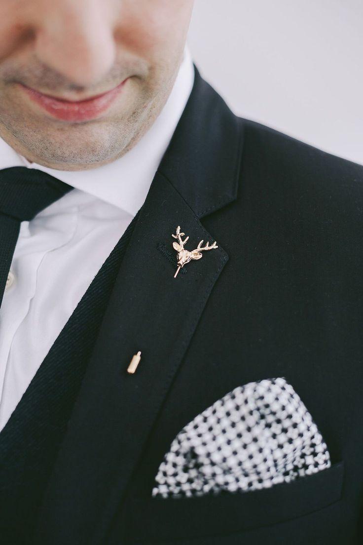 Lapel Pin Boutonniere Alternative