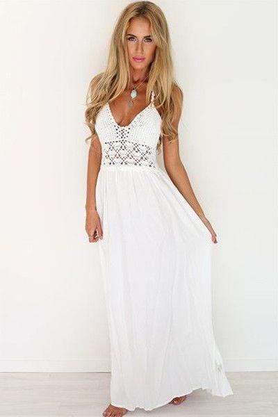 Perfect beach maxi dress