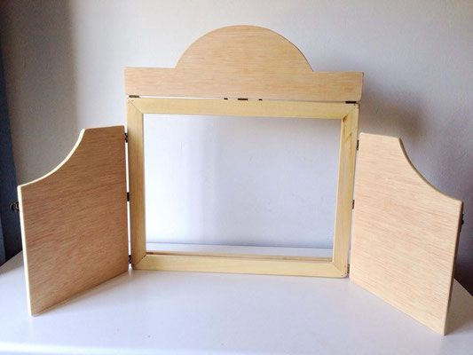 Kamishibai - Kutuva - Materiales y Mobiliario infantil artesanal
