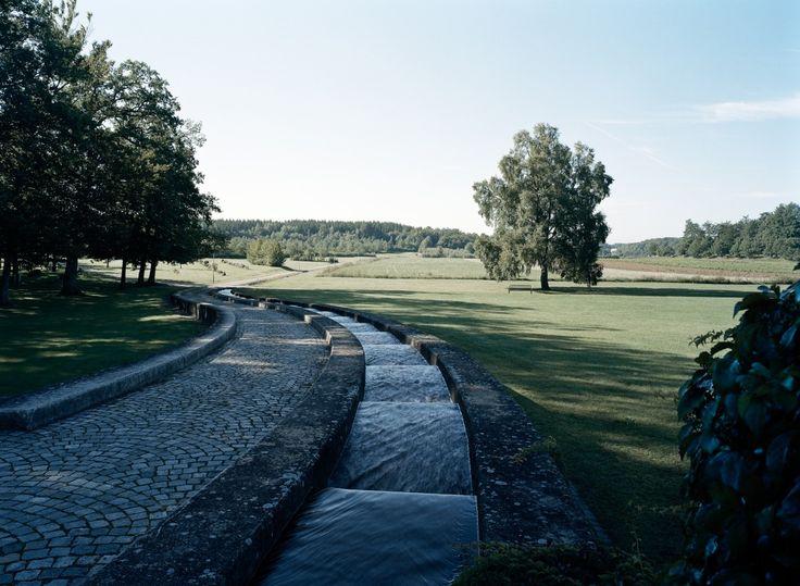 Vattentrappa  Augerum cemetery