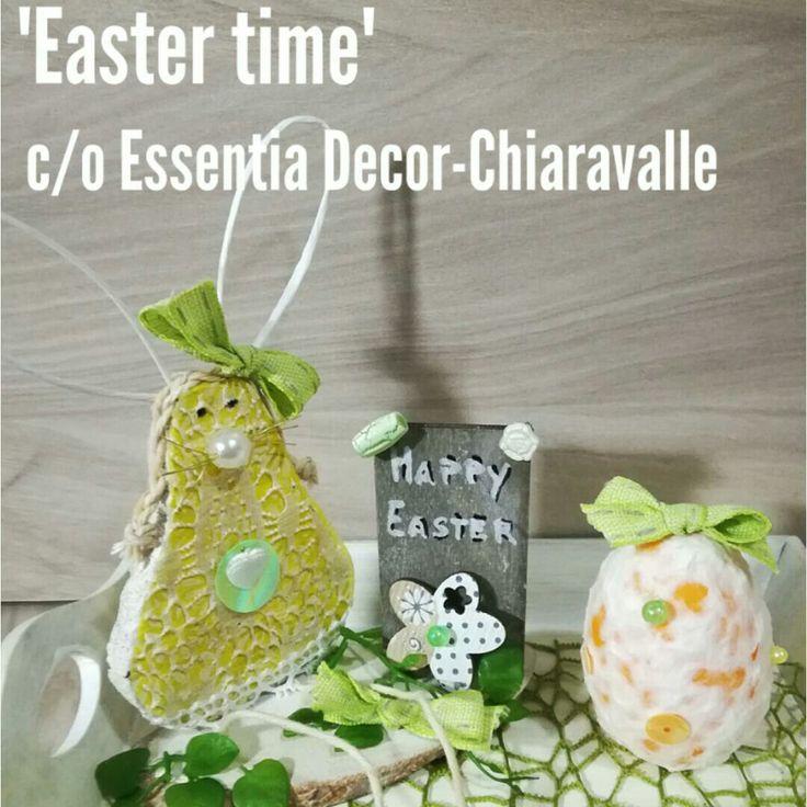 'Easter time ' corso creativo presso Essentia decor -CHIARAVALLE (An)