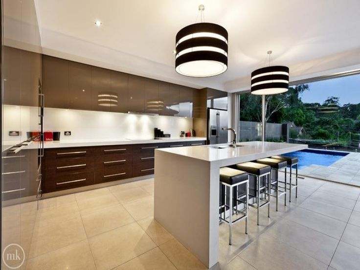 Chandelier In A Kitchen Design From An Australian Home   Kitchen Photo  7238097 Part 82