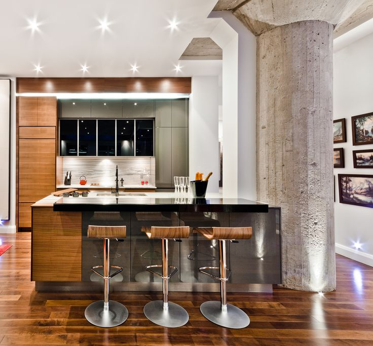 Kitchen Lighting Montreal: Armoires De Cuisine Tendances Concept