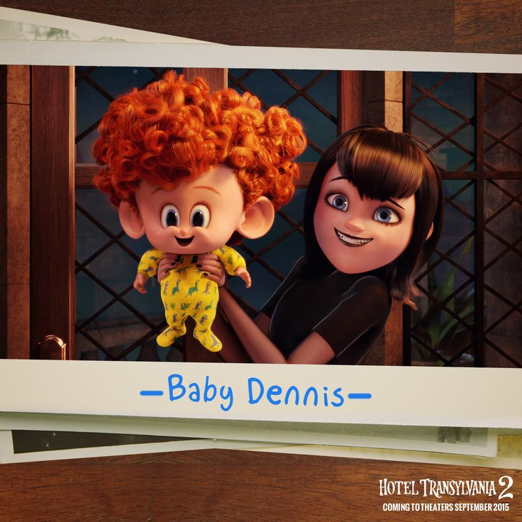 Meet my little guy, Dennis. Not quite sure how much monster is in him yet… Let's find out in Hotel Transylvania 2!  #HotelT2 - In theaters September 25
