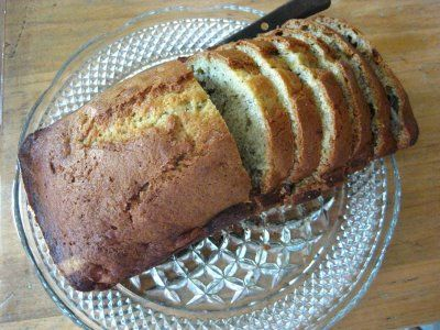 Banana Bread...taken from Joy of Cooking.  Best banana bread recipe I've ever used.  And I add an extra banana.