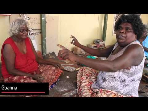String figures Demonstrated by Yirrkala Artists on the Little Green blog!