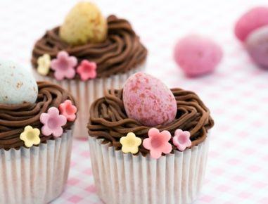 Karotten-Oster-Cupcake