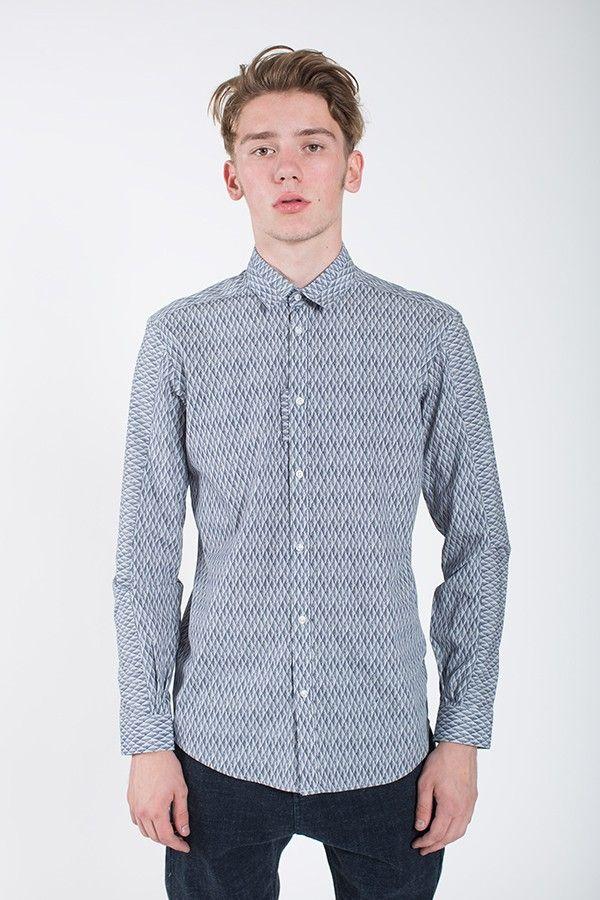 JOURNAL Quadron Shirt Insignia Blue