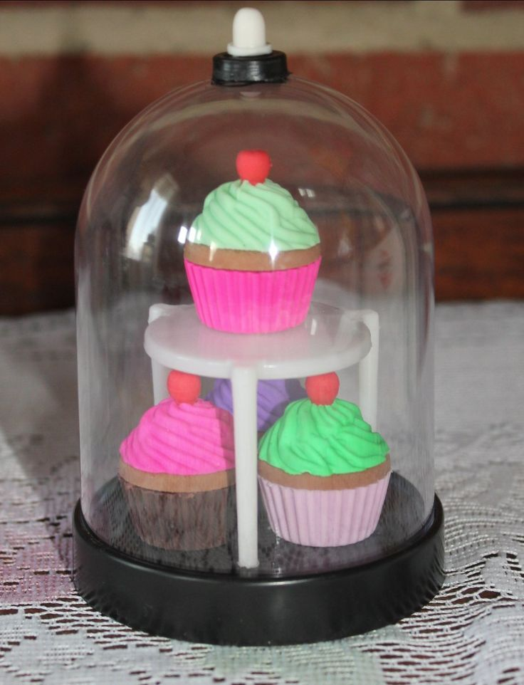 "How to make a cute display dome for an American Girl or 18"" doll bakery or kitchen"