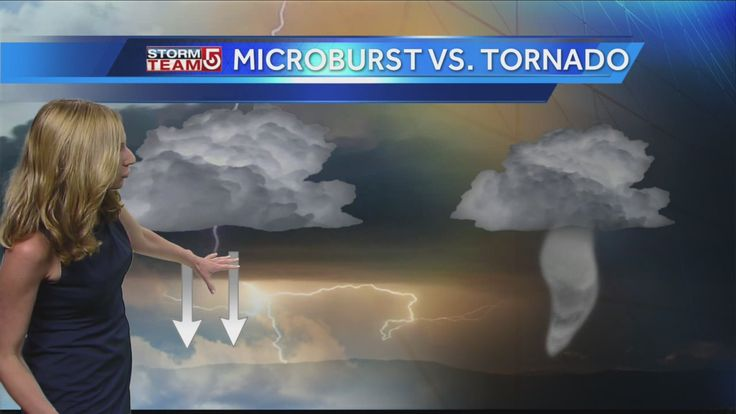 StormTeam+5+meteorologist+Danielle+Vollmar+explains+the+difference+between+a+tornado+and+a+microburst,+and+the+damage+that+both+cause.