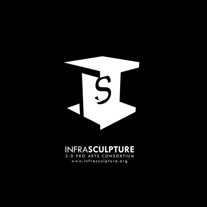 Infrasculpture-Logo-Design-Ctrl-Alt-Design-Boston-002: Infrasculpture Logos, Logos Marks Icons, Negative Space, Logos Design, Design Logos, Logos Mark Icons, Infrasculptur Logos