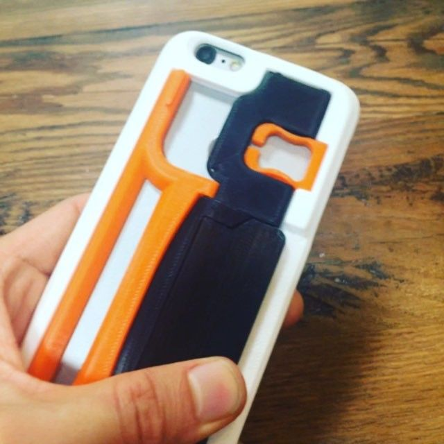 so amazing #3Dprinting iphone case design by @bunji1818 !! #3Dprint by @celrobox #robox #3Dprinter