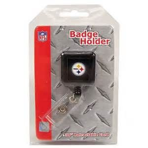 Pittsburgh Steelers ID Badge Holder | #Pittsburgh #Pennsylvania #Steelers #PittsburghSteelers #Memorabilia #Sports #Merchandise #Football #NFL | Order Today At www.sportsnutemporium For Only $3.25