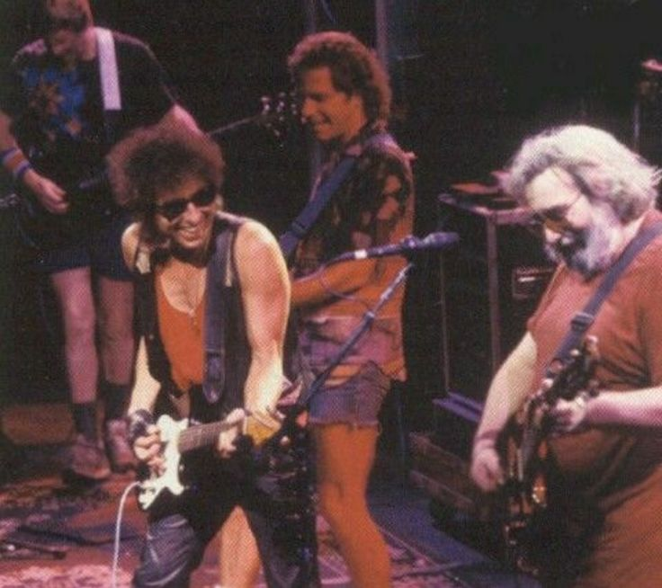Bob Dylan and the Grateful Dead