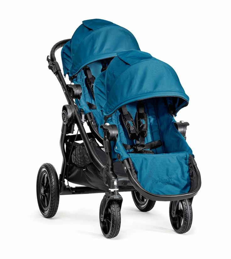 Baby Jogger City Select Double Stroller - Teal Blue