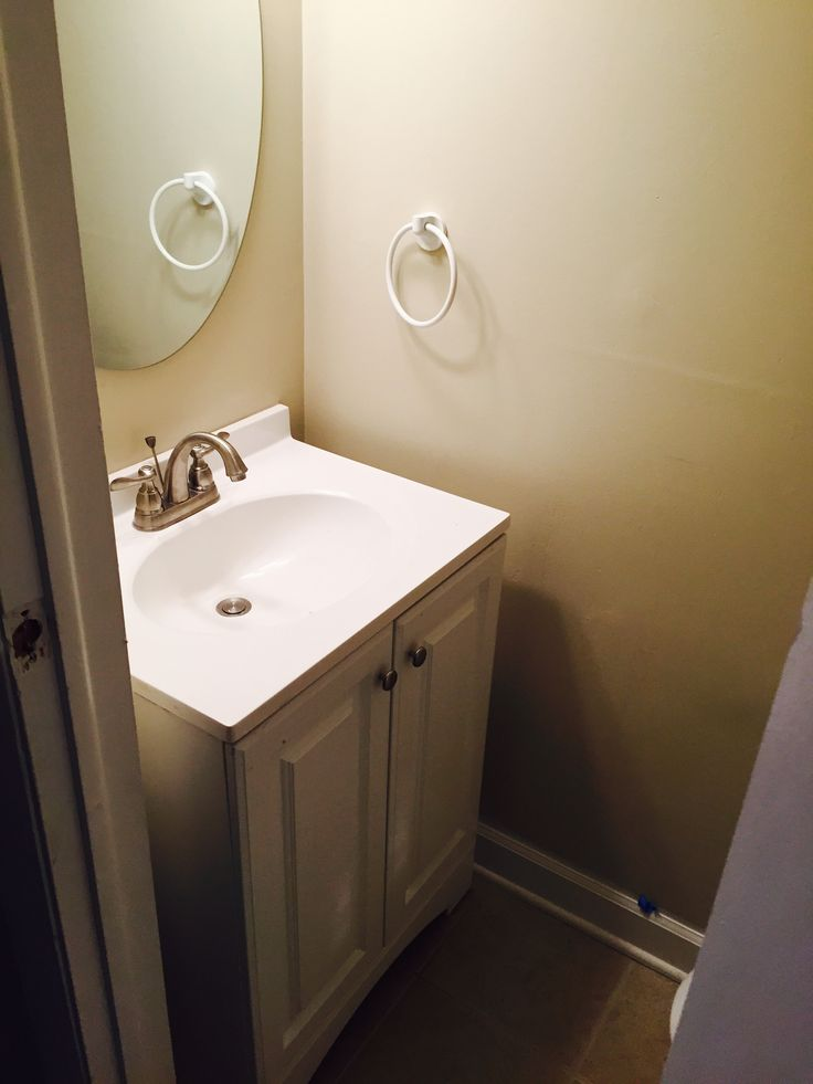 Vanity Faucet and Mirror Installation