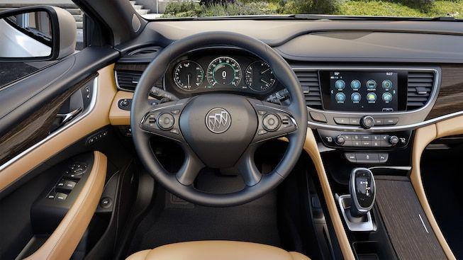 Interior Gallery Image Of The 2019 Buick Lacrosse Full Size Luxury Sedan Buick Buick Lacrosse Luxury Sedan