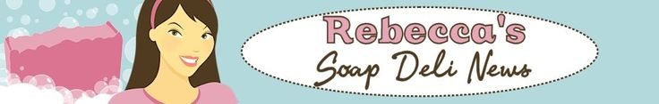 Soap Deli News is the official blog for Rebecca's Soap Delicatessen - deliciously scented, handmade shea butter soaps since 2001. Get info on the latest products, sales, contests and news from Rebecca's Soap Delicatessen along with DIY craft projects, bath and body recipes, soapmaking tutorials, food recipes and handmade finds from other indie artists.