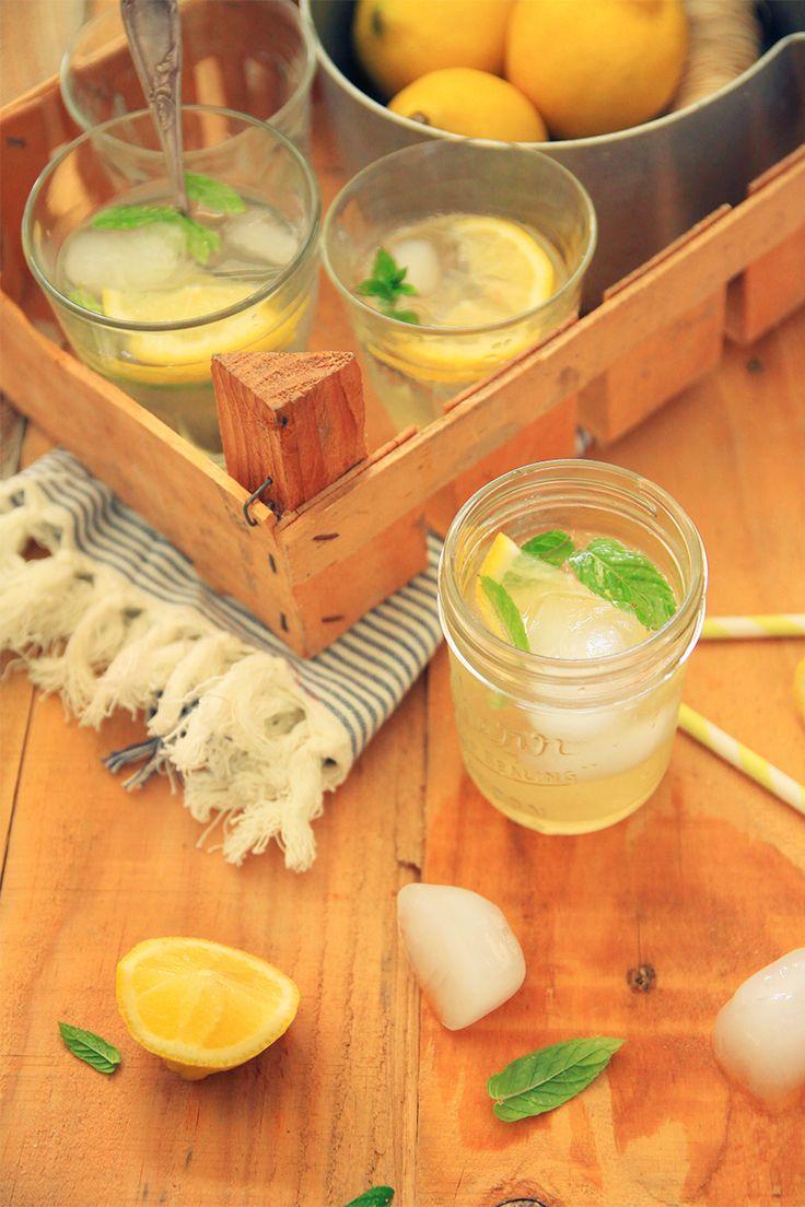 Citronnade maison, citron / combava // Homemade lemonade lemon and kaffir lime