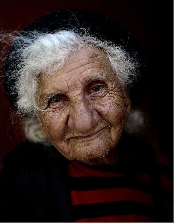The kind old woman by YuriBonder.deviantart.com