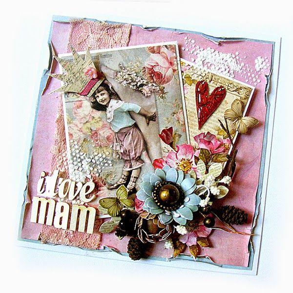 Cudowna kartka na Dzień Matki w wykonaniu Ki #Mother's Day